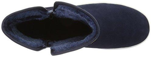Esprit Ducky Bootie, Botas Efecto Arrugado Para Mujer Azul (400 navy400 Navy)