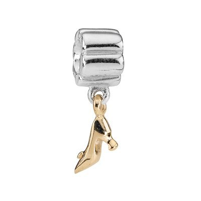 PANDORA Golden Stiletto Sterling Silver and 14K Gold Charm, ()