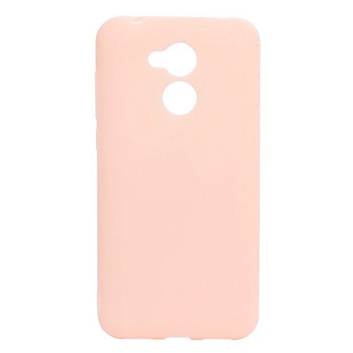[6Pack] Cover para Huawei Honor 6A (5.0) , WenJie Accesorios Regalo gatito Silicona Suave Funda Case Tapa Caso Parachoques Carcasa Cubierta para Huawei Honor 6A (5.0) Pink