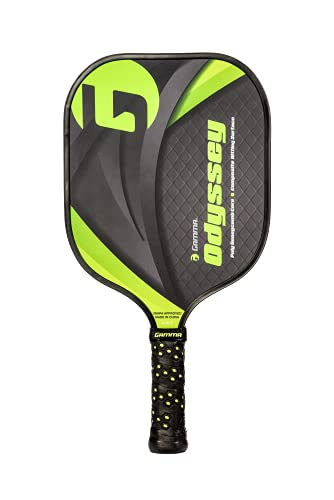 Gamma Pickleball Paddle with Poly Honeycomb Core Graph -DXW1