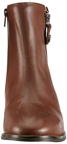 Donna O'polo con medio tacco stivali ruggine Stivaletto 341 Marc di Rot qaA4ZXSw