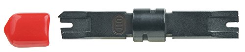 (Klein Tools VDV427-017-SEN Combination 66/110 Type Terminate and Cut Punch Down Blade)