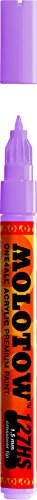 Molotow ONE4ALL Acrylic Paint Marker, 1.5mm, Lilac Pastel, 1 Each (127.416)