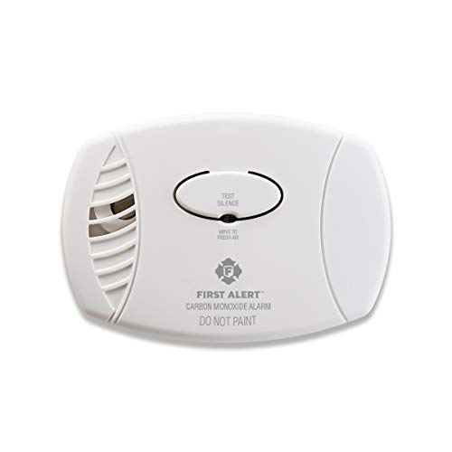 First Alert Carbon Monoxide Detector| No Outlet Required