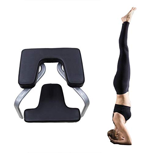 Y current Yoga Stool Headstand, Inversion Trainer for Family Gym, PU Inversion Table Elite Fitness, Load Bearing 200kg, for Yoga Studio, Relieve Fatigue Increase Strength Body ()