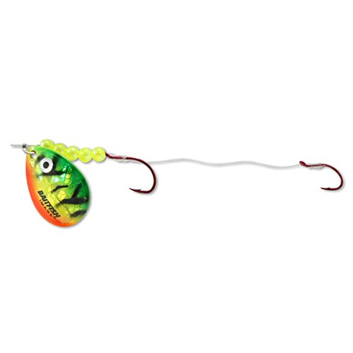 Northland Tackle Baitfish Spinner Harness Rig, Gold Perch, 2 Hook ()