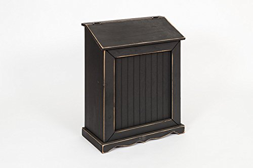 Primitive Rustic Country Style Hamper- Golden Oak Stain by Furniture Barn USA