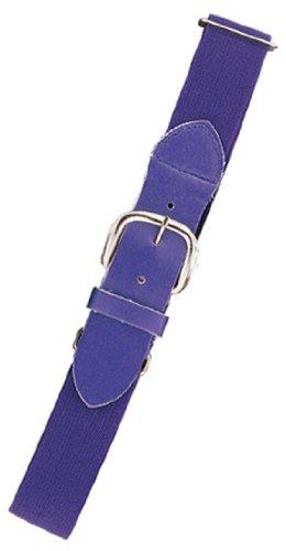 Champion Sports Adult Elastic Uniform Belt, Purple