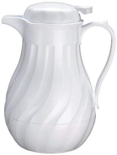 OKSLO Beverage server, insulated, 20oz, white swirl, set of 6 ()