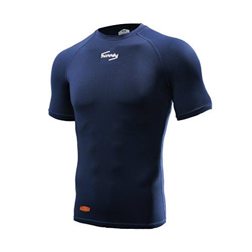 Navy Blue Basketball T-Shirt - 8