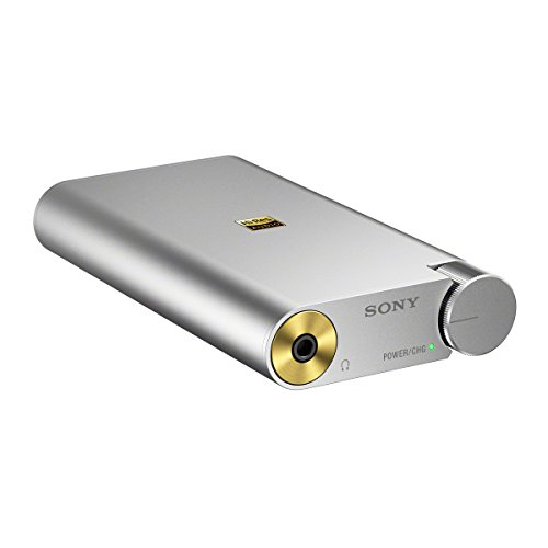 (Sony PHA1A Portable Hi-Res DAC/Headphone Amplifier, Silver)