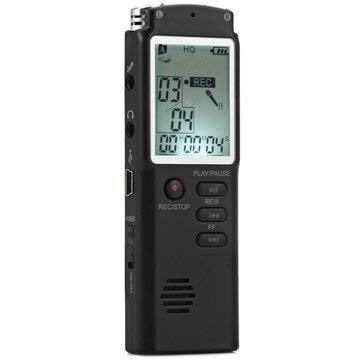 Digital Voice Recorder - Digital Audio Voice Recorder - T60 Mini 8GB Low Noise Digital Audio Voice Recorder MP3 Player (Mp3 Player Recorder)]()