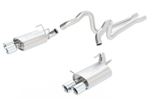 cat back exhaust system mustang - 1