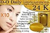 10 Bars D-O Daily Whitening Pure Skincare Facial