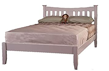 Arquette Solid Wood Bed Frame Sweet Dreams Oak White White 4ft