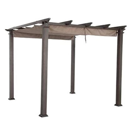 Garden Winds Replacement Canopy Top Cover for Home Depot Hampton Bay GFM00467F Pergola - Standard 350 Fabric LCM1073B