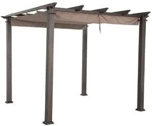 Garden Winds Cubierta Superior de toldo de Repuesto para Home Depot Hampton Bay GFM00467F Pérgola – Tejido estándar 350