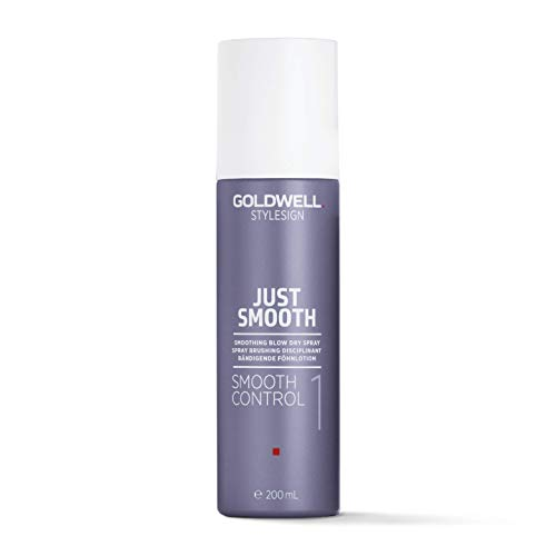 Goldwell Stylesign Just Smooth Control Blow Dry Spray By Goldwell for Unisex - 6.7 Oz Dry Spray, 6.7 Ounce (Goldwell Flat)