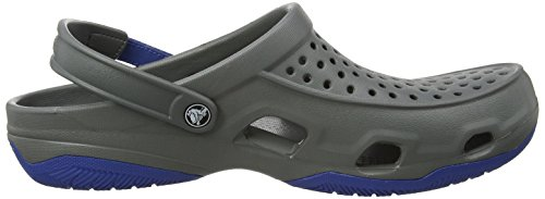 Crocs Mens Swiftwater Dekk Tette Skifergrå