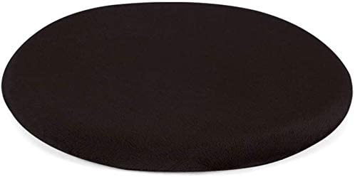 スイングクッション 低反発座布 チェアクッション,丸め 単色 じゃない-スリップ 心地いい ポリエステル ショートベルベット 肌にやさしい 丸型スツール シートクッシ-C-33x33x3cm,33x33x3cm,A