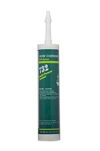 Dow Corning Adhesive - Dow Corning 1892070 732 Clear Multi-Purpose Sealant, -60 to 180 Degree C, 300 mL