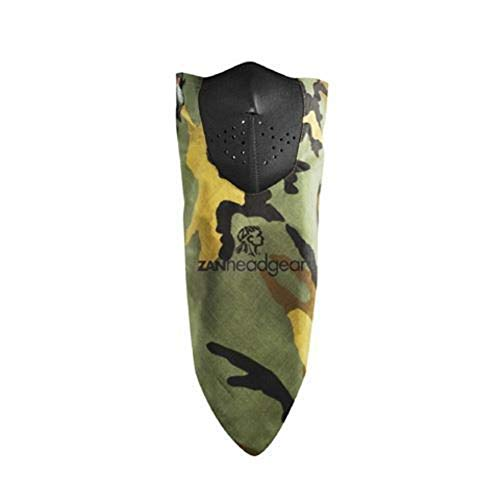 Zan Headgear Neodanna Woodland Camo (Green, OSFM)