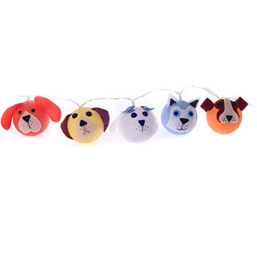 Luminária Decorativa Cães Cormilu Multicor