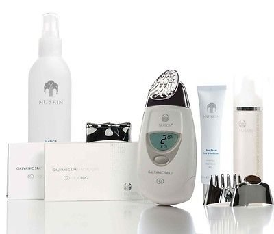 Nu Skin reDESIGN Galvanic Face Spa Package (White) by Nu Skin