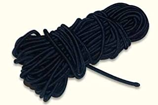 Magician's Elastic ( Black, 5 mtrs )by Uday - Trick Uday's Magic World