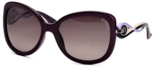 Dior JYI Lilac White and Black Twisting Butterfly Sunglasses Lens Category - Dior Butterfly Sunglasses