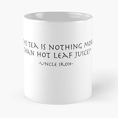 Avatar Iroh Uncle Zuko - White -coffee Mug- Unique Birthday Gift-the Best Gift For Holidays- 11 Oz.
