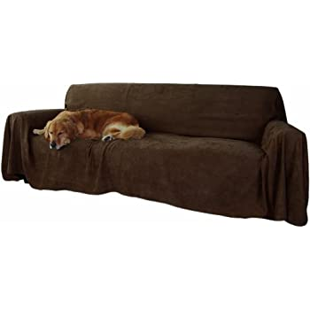 Incroyable Floppy Ears Design Simple Faux Suede Couch Cover Protector (XXL For Extra  Long Couches,
