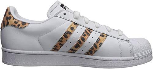 adidas Originals Women's Superstar  White/Black/White 8.5