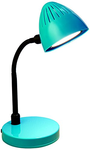 "Normande Lighting GP5-3291 GP5-3291 Desk Lamp, Blue - 3W LED Desk Lamp 13"" in Height Rocker on/off Switch - lamps, bedroom-decor, bedroom - 31xKtz0f3qL -"