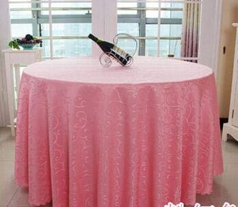 Solid Striped hHigh-end Polyester Round Table Cover Dining Table Cloth Tablecloth Conference Hook Flower Hotel Office Wedding  4 B07R9YHSC3