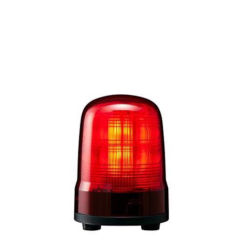 パトライト 回転灯 SF10-M1JN-R Φ100 DC12~24V 発光パターン(22種) 赤色 3点ボルト足取付