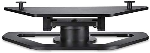 EDIONS for The Echo Show Second-Generation Bracket,360-Degree Rotating and Durable Base Aluminum Bracket for Echo Display Second Generation