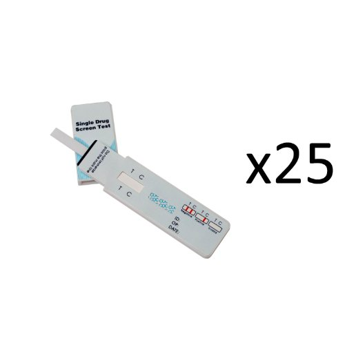 25 Single Panel Oxycodone Home Drug Test w/cassette 25 Units