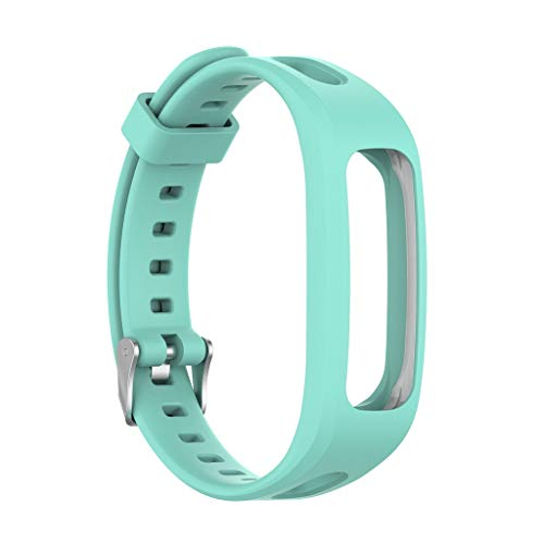 Compatible with Huawei Honor 4 Running Silicone Replacement Watch Band Wrist Strap (Mint Green, 10x4x2cm)