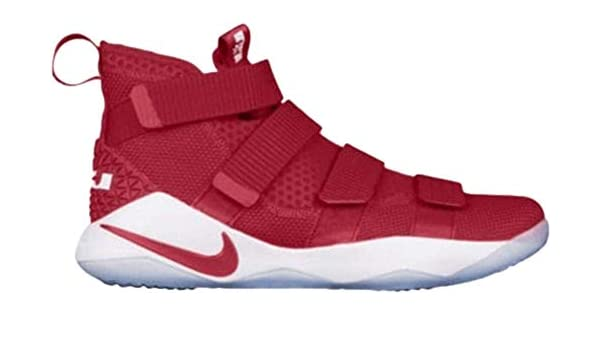 33ed4efbe71 Amazon.com  Nike Lebron Soldier XI TB Promo Team Red Men s Basketball Shoes  Size  12.5 943155 600  Sports   Outdoors