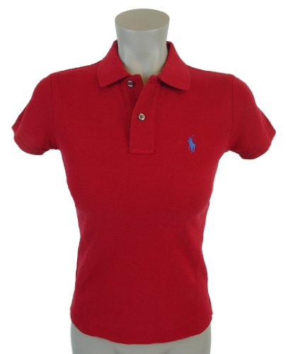 Amazon.com: Ralph Lauren Women\u0026#39;s Skinny Polo Pony Logo T-Shirt: Clothing