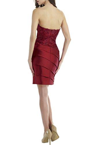Marie Kurz Etuikleider Abendkleider Cocktailkleider Braut La Rot Traegerlos Mini Ballkleider Tanzenkleider Dunkel BqCdEdwOn