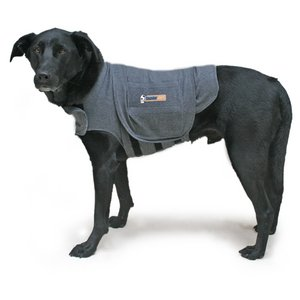 Thundershirt Dog Anxiety Treatment- (X-Small) – Heather Gray, My Pet Supplies