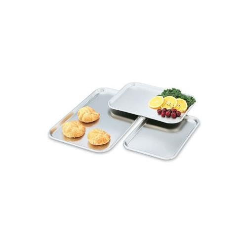 """Vollrath 80130 S/S 13-5/8 x 9-3/4"""" Oblong Serving / Display Tray"""