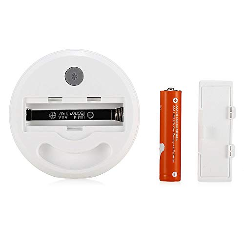 Xiaomi Mijia Smart Thermostat Accuracy Temperature, Digital Wireless Bluetooth Humidity Sensor Meter Work on APP With Battery, White
