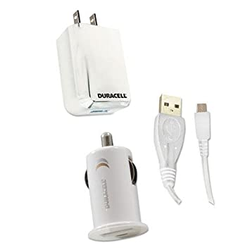 Amazon.com: Duracell du1594 pared y SET de cargador de coche ...