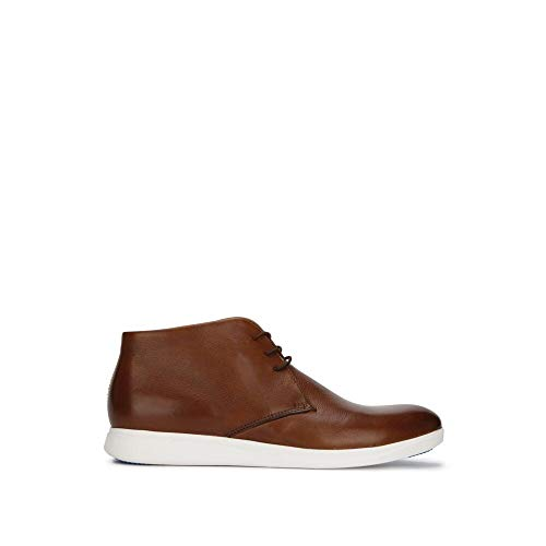 Kenneth Cole New York Rocketpod Leather Chukka Sneaker with Techni-Cole Cognac