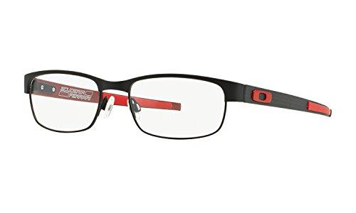 Oakley Carbon Plate OX5079 Eyeglasses - 04 Black/Ferrari - Oakley Glasses Carbon