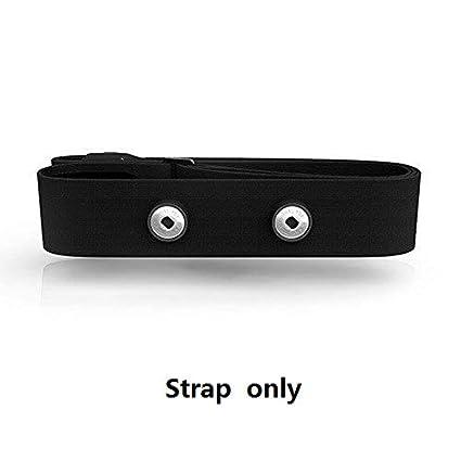 Elástica Ajustable Chest Cinturón Correa Bandas para Polar, Garmin, Wahoo Deporte Running Monitor de frecuencia Cardiaca