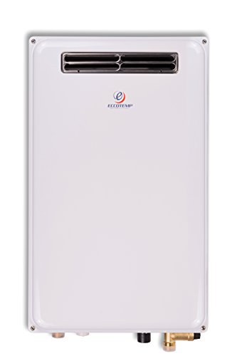 - Eccotemp 45H-LP 6.8 GPM Outdoor Propane Tankless Water Heater, White